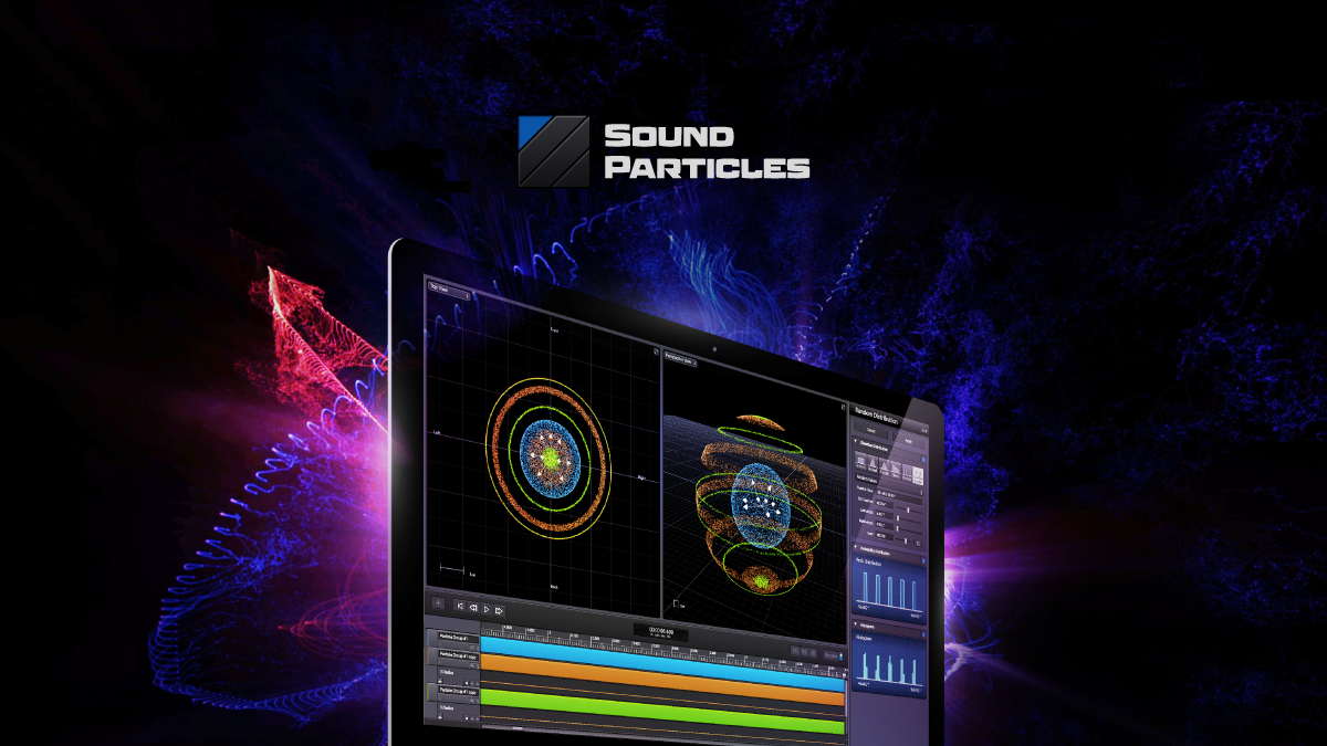 Sound Particles - The Ultimate 3D Audio Software